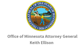 Logo for the Minnesota Attorney General's Office